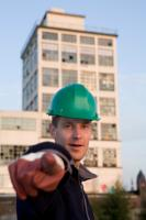 man with hardhat